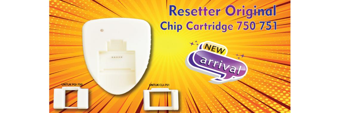 Resetter Cartridge PGI750 CLi751