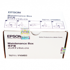 Maintenance Box T6711 E-6711 PXMB3 Epson L1455 WF7611 Resetter Waste Ink Tank Reset Chip Printer WorkForce WF-3011 WF-7111 WF-7511 WF-7611 WF-7711 WF-7110 WF-7110DTW WF-7610 WF-7620 WF-3521 WF-3620 WF-3640 New