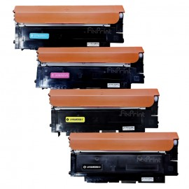 Cartridge Toner Compatible 119A W2091A Cyan Printer HP Color Laser 150a 150nw MFP 178nw 179nw 179fnw 179fwg Tanpa Chip Reset