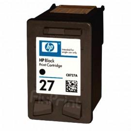 Cartridge HP 27 Black C8727AA, Tinta Printer HP Deskjet 3320 3325 3420 3535 3550 3650 3744 3745 3845 1110 1210 1315 4255 4355 5608 5610 New Original