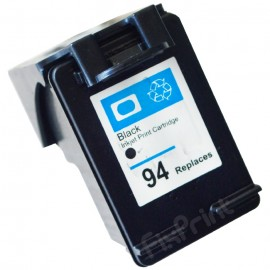 Cartridge Recycle HP 94 Black C8765WA, Tinta Printer HP Deskjet 5740 6540 6840 9800 9860 9808 - HP Photosmart 7830 8150 8450 8750 2610 2710 AiO - HP Photosmart Pro B8330 B8770 - HP PSC 1510 1610 2355 AiO - HP Officejet H470 H470b K7100 6210 7210 7410 AiO