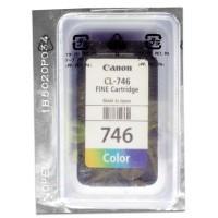 Cartridge Loose Pack Original Canon CL-746 CL746 746 Color Tanpa Box, Tinta Printer Canon TR4570S TS207 TS307 iP2870 iP2872 iP2870S MG2570 MX497