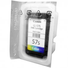 Cartridge Loose Pack Original Canon Small CL57S CL-57S CL 57 Small Color Tanpa Box, Tinta Printer Canon E3170 E400 E410 E417 E460 E470 E477 E480 Loose Pack