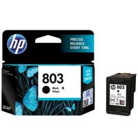 Cartridge Original HP 803 Black F6V21AA, Tinta Printer HP DeskJet 1112 2132