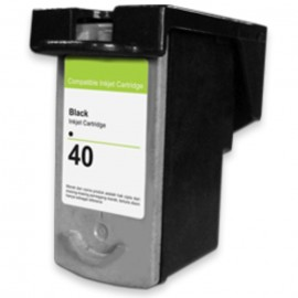 Cartridge Recycle Canon PG-40 PG40 40 Black, Tinta Printer Canon iP1200 iP1300 iP1600 iP1700 iP2200 MP150 MP160 MP170 MP180 MP450 MP460 iP1880 iP1980 MP145 MP198 MP228 MP476 MX308 MX318