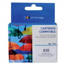 Cartridge Recycle Canon PG-830 PG830 830 Black, Tinta Printer Canon IP1180 IP1880 IP1980 2580 2680 MP145 MP198 MP228 MX476 MX308 MX318