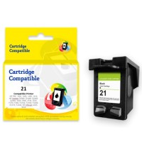 Cartridge Recycle HP 21 Black C9351AA, Tinta Printer HP DeskJet D1360 D1460 D1550 D1560 D2360 D2460 3920 3940 F370 F380 F2120 F2179 F2180 F2235 F2275 F2276 F2280 F4185 AiO - HP PSC 1402 1410 AiO - HP Officejet 4355 AiO