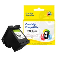 Cartridge Recycle HP 703 Black CD887AA, Tinta Printer HP Deskjet D730 F735 K109 K109g K209a K209g AiO - HP Photosmart K510a