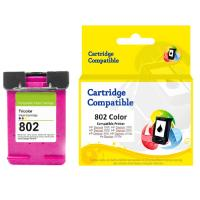 Cartridge Recycle HP 802 Color CH562ZZ, Tinta Printer HP Deskjet 1000 2000 3000 1050 1510 2050 3050 All-in-One