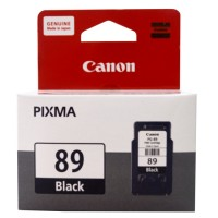 Cartridge Tinta Canon Original PG 89 PG-89 PG89 Black, Refill Printer E560 E560R