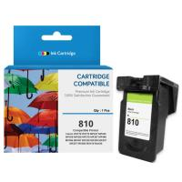 Cartridge Tinta Recycle Canon PG810 PG-810 PG 810 Black CHIP, Cartridge Printer Canon iP2770 iP2772 MP237 MP245 MP258 MP268 MP276 MP287 MP486 MP496 MP497 MX328 MX338 MX347 MX357 MX366 MX416 MX426 New Compatible