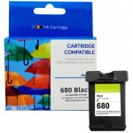 Cartridge Tinta Recycle HP 680 Black Refill Printer HP Deskjet 1115 1118 2135 2138 2675 2676 2677 2678 3635 3636 3638 3775 3776 3777 3778 3779 3835 3838 4535 4536 4538 4675 4678 5075 5078 5085 5088 5275 5278 All-in-One