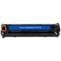 Cartridge Toner Compatible HP CF211A 131A Cyan, Printer HP LaserJet Pro 200 color M251 M251n M251nw M276 MFP M276n MFP M276nw
