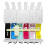Cartridge CISS Epson T0491-T0496, CISS R230 R230x R210 R310 R350 RX510 RX650 RX630