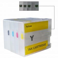 Cartridge MCISS Canon PGI2700 PGI-2700 4 Warna, Refillable Printer MAXIFY iB4070 iB4170 MB5070 MB5170 MB5370 MB5470