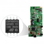 IC Eprom Printer Epson L380 25Q16, IC Eeprom Reset Counter Board L380, Resetter Mainboard Epson L380