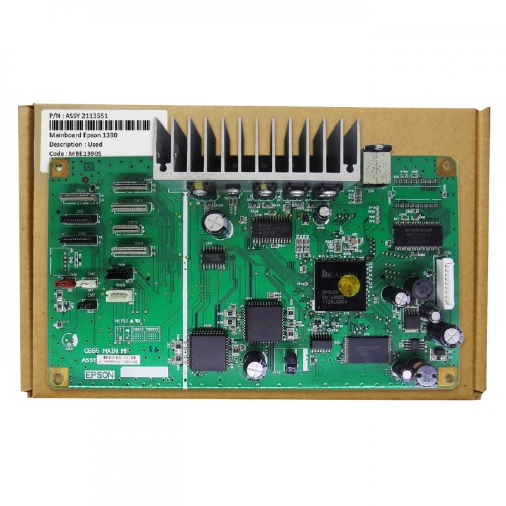 Board Printer Epson 1390, Mainboard Epson 1390, Motherboard R1390 Used