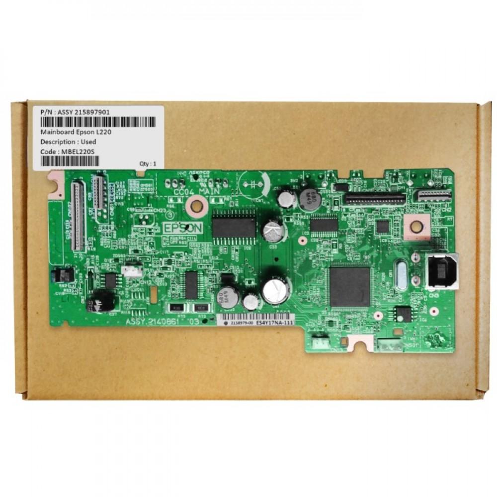 Board Printer Epson L220, Mainboard L220, Motherboard L220 Used