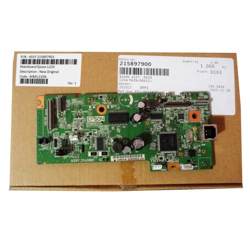Board Printer Epson L220, Mainboard L220, Motherboard L220 New Original