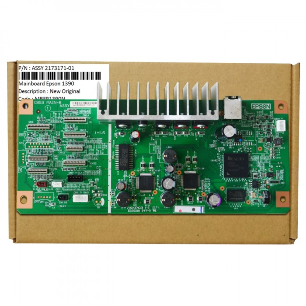 Board Printer Epson 1390, Mainboard R1390, Motherboard Epson 1390 New Original, part Number Assy 2173271-01