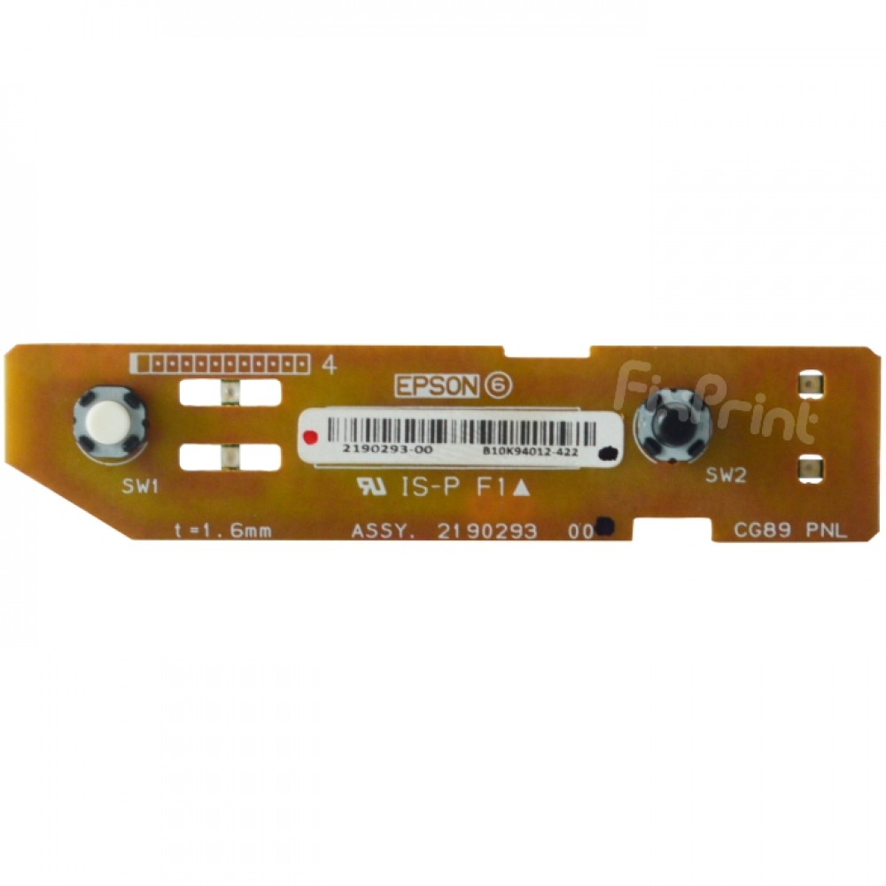 Control Panel Assembly Epson L3110 Tombol Indikator Power Switch On Off Printer L3110 New