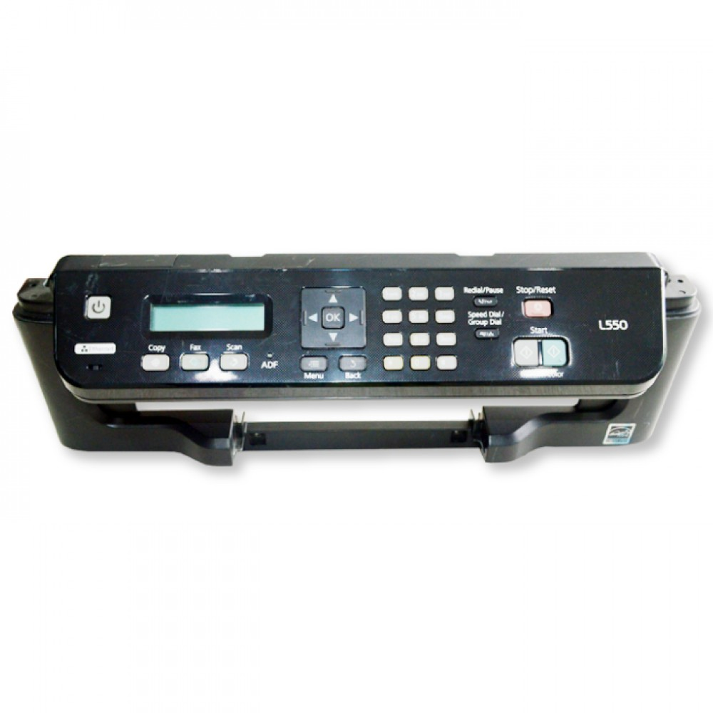 Control Panel Assembly Epson L550 Tombol Power Switch On Off Printer L550 Bekas Like New