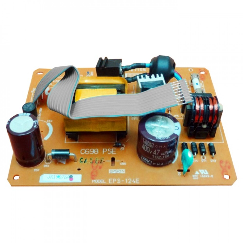 Power Supply Epson L1300 T1100 R1900, Adaptor Printer Epson L1300 T1100 R1900 Used