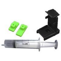 Refill Kit / Klip Penyedot Tinta Cartrige HP21 HP22 HP27 HP28 HP56 HP57