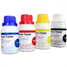 Serbuk Refill Bubuk Toner Xerox CP115 CP115w CM115w CP116w CM225 CM225fw CP105 CP105b CP105w CP215W CM215 CM215fw CP205 CP205w CM205 CM205w CM205f Black, Color Printer