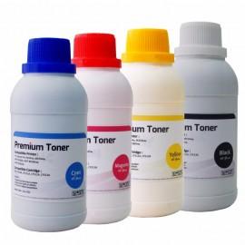 Serbuk Toner Cartridge HP 204A CF511A Cyan, Tinta Bubuk 1x Refill Printer Laserjet Color M154a M154nw MFP M180n M180nw M181fw