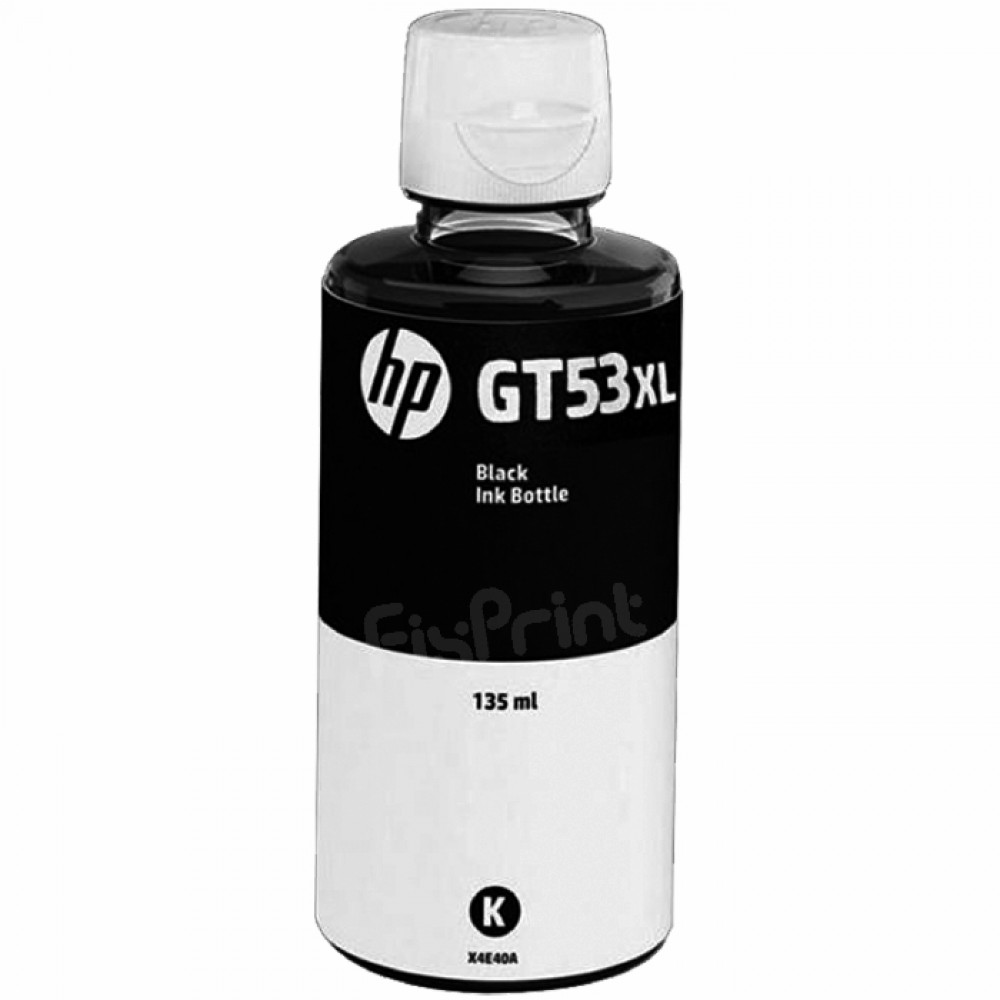 Tinta Refill Loosepack HP Original GT53XL GT 53 XL Black 135ml, Tinta Refill Printer HP Smart Tank 510 515 550 610 615