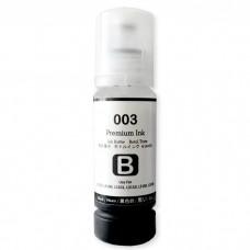 Tinta 003 Premium Ink Black 70ml Refill Printer Epson L1110 L3100 L3101 L3110 L3116 L3150 L3156 L4150 L4160 L5190 L6160 L6170 L6190