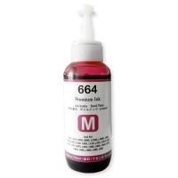 Tinta 664 Premium Ink Magenta 100ml Refill Printer Epson L110 L120 L210 L220 L300 L310 L350 L355 L360 L365 L380 L405 L455 L485 L550 L555 L565 L100 L200