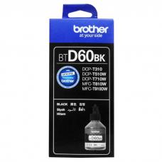 Tinta Refill Brother Original BTD60BK BT-D60BK Black, Tinta Refill Printer Brother DCP-T310 DCP-T510W DCP-T710W MFC-T810W MFC-T910DW