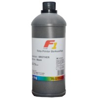 Tinta Refill Dye Base F1 Black 1 Liter Printer Brother