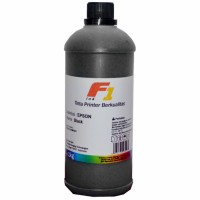 Tinta Refill Dye Base F1 Black 1 Liter Printer Epson