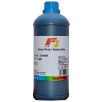 Tinta Refill Dye Base F1 Cyan 1 Liter Printer Canon