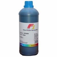 Tinta Refill Dye Base F1 Cyan 1 Liter Printer Epson