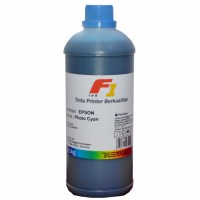 Tinta Refill Dye Base F1 Light Cyan 1 Liter Printer Epson