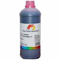 Tinta Refill Dye Base F1 Light Magenta 1 Liter Printer Epson