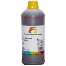 Tinta Refill Dye Base F1 Yellow 1 Liter Printer Brother