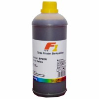 Tinta Refill Dye Base F1 Yellow 1 Liter Printer Epson