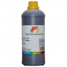 Tinta Refill Dye Base F1 Yellow 1 Liter Printer HP