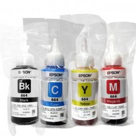 Tinta Refill Epson 003 Cyan 65ml Original Loosepack, Tinta Refill Printer L1110 L3110 L3150 L5190