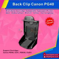 Back Clip / Cartridge Holder Canon PG40 PG830 CL41 CL831 HP28 HP27 HP 802 HP 703 HP 60 HP 678 HP 46 Black Color