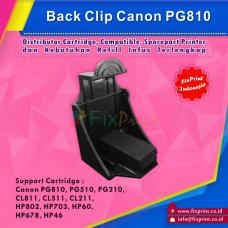 Back Clip / Cartridge Holder Canon PG810 PG745 PG510 PG210 CL811 CL746 CL511 CL211 PG47 CL57