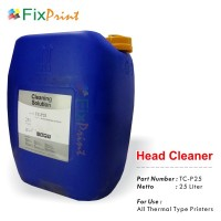 Head Cleaner TC-P25 Printer Thermal Epson Canon Brother HP Premium 1 Galon 25 Liter
