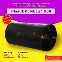 Plastik Polybag / Plastik Packing 1 Roll