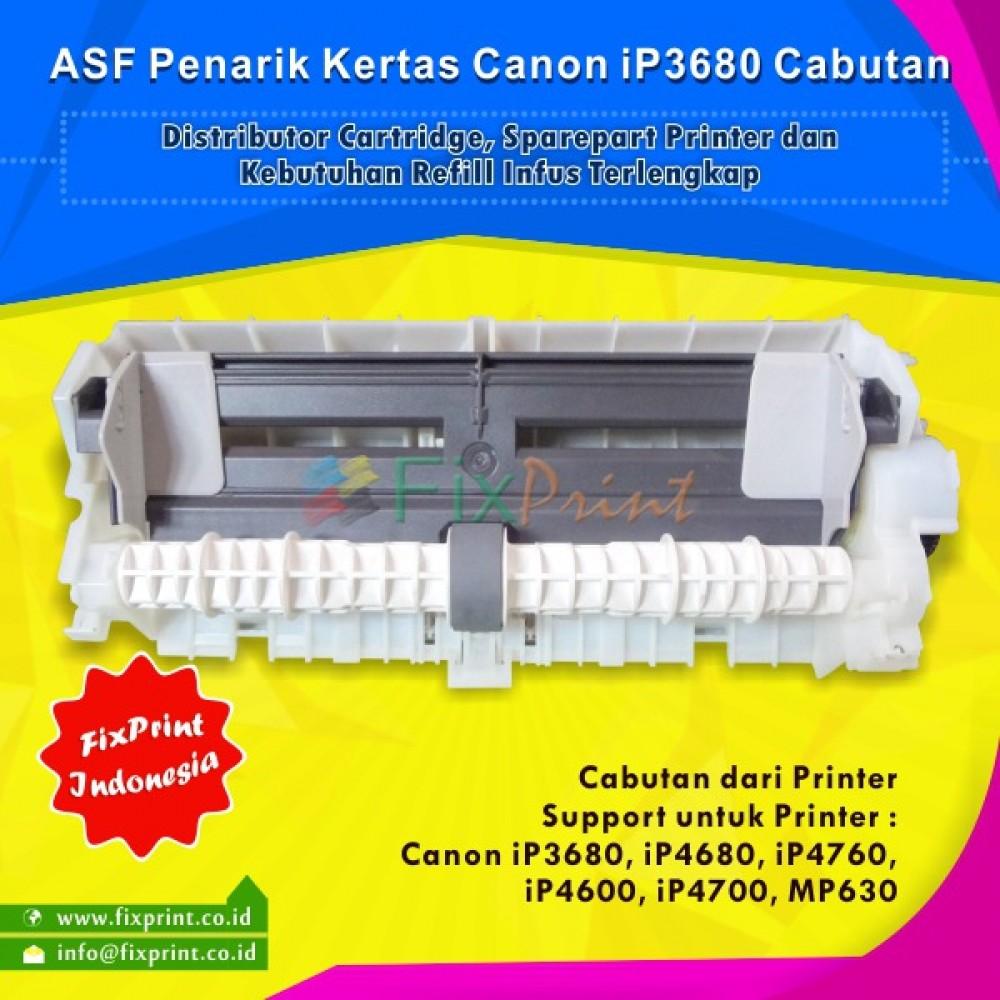 ASF Roller Penarik Kertas Canon iP3680 3680 iP4680 iP4760 iP4600 iP4700 MP630 Bekas Like New