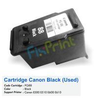 Cartridge Bekas Canon PG-88 PG88 88 Black, Tinta Printer Canon E500 E510 E600 E610